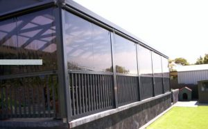 Tinted clear PVC - Channel It system